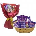send chocolate bouquet to manila, chocolate basket to manila