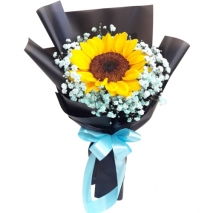 Single Piece Sunflower Bouquet