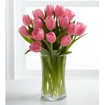 12 tulips glass vase in philippines