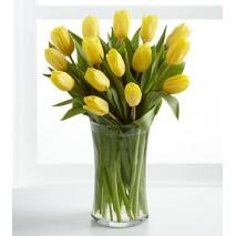 12 yellow tulips to philippines