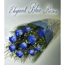 12 imported blue roses bouquet philippines