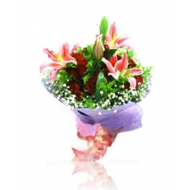 red roses and lilies in philippines