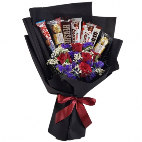 send chocolate delight bouquet to philippines