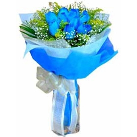 6 imported blue roses bouquet philippines
